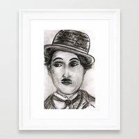 charlie Framed Art Prints featuring Charlie by sladja