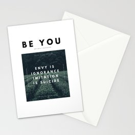 Envy Is Ignorance . Imitation Is Suicide . Stationery Cards