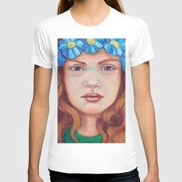 Blue Poppy T-shirt