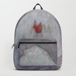 """""""Snow Troll"""" by Theodor Kittelsen Backpack"""