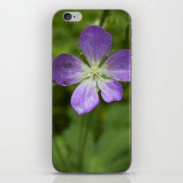 Wild Geranium iPhone Skin