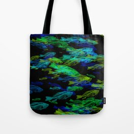 fishbonesGlow Tote Bag