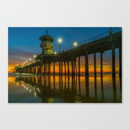 Root Beer Sunset Canvas Print