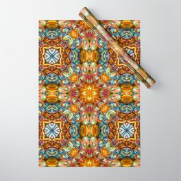 Kaleidoscope Wrapping Paper