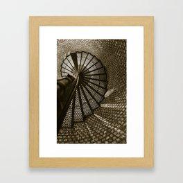 Blinded by the Light. Framed Art Print