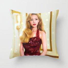 A Classical Beauty Throw Pillow