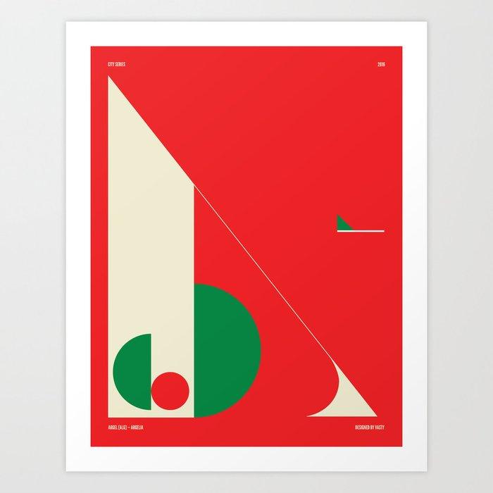 Argel — City Series Art Print