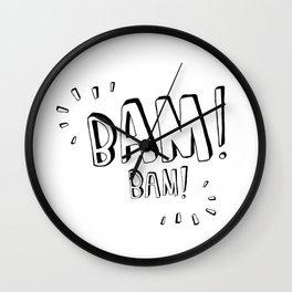 BamBam, kids room and nursery deco Wall Clock
