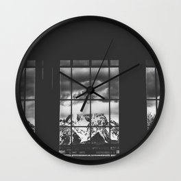 Jackson Wyoming Wall Clock