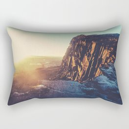 Edinburgh Winter Sunset Rectangular Pillow