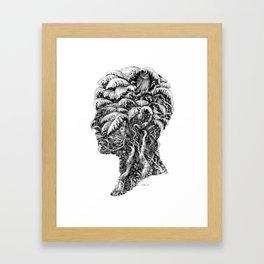 Portrait of Winter Framed Art Print