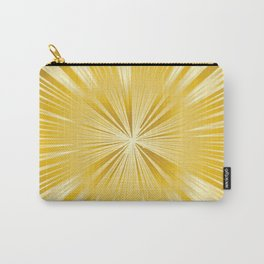 Golden Ray Background Carry-All Pouch