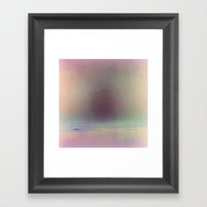 Within That Aura Framed Art Print
