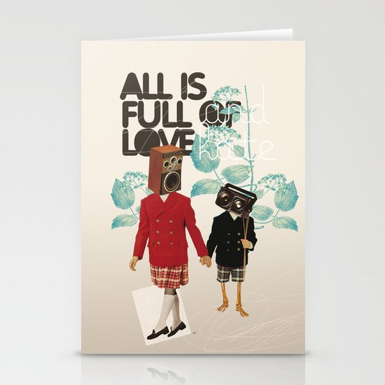 ALL IS FULL OF LOVE Stationery Cards