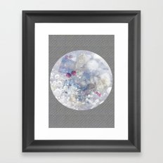 Water Bubble Framed Art Print