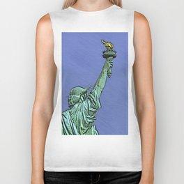 Lady Liberty #6 Biker Tank