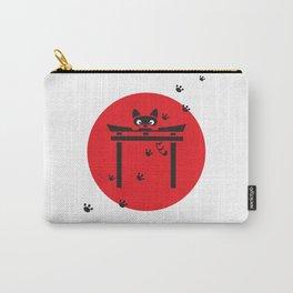 Curious Tanuki Carry-All Pouch