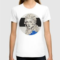 mother of dragons T-shirts featuring Mother Of Dragons by Fatma Sahem