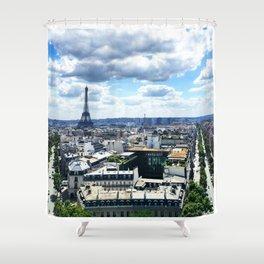 A Classic Shower Curtain