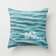 SaltWater Cure Throw Pillow