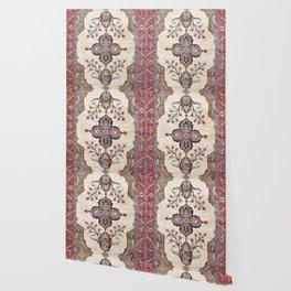 Khoy  Antique Azerbaijan Persian Rug Wallpaper