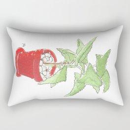my plant ipad Rectangular Pillow