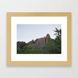 Series: The Scenery Framed Art Print