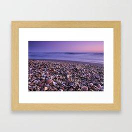 The Beach Of The Shells Framed Art Print