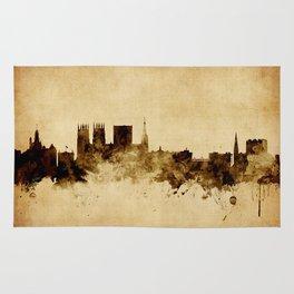 York England Skyline Rug
