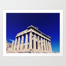 The Acropolis (Athens, Greece) Art Print