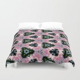 Geranium with Love (pattern 115) Duvet Cover