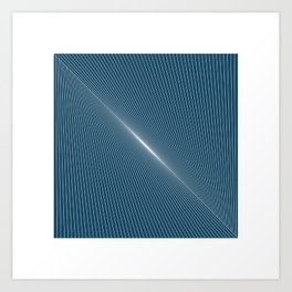 #254 Dawn – Geometry Daily Art Print