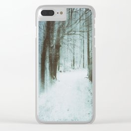 A Bleak Midwinter Clear iPhone Case