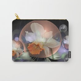 Daffodil in a fantasy droplet Carry-All Pouch