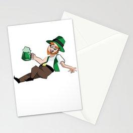 St Patricks Day Party Like a Leprechaun St Pats Stationery Cards