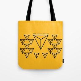 MIND EMOTION FEELING Tote Bag