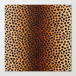 CHEETAH SKIN Canvas Print