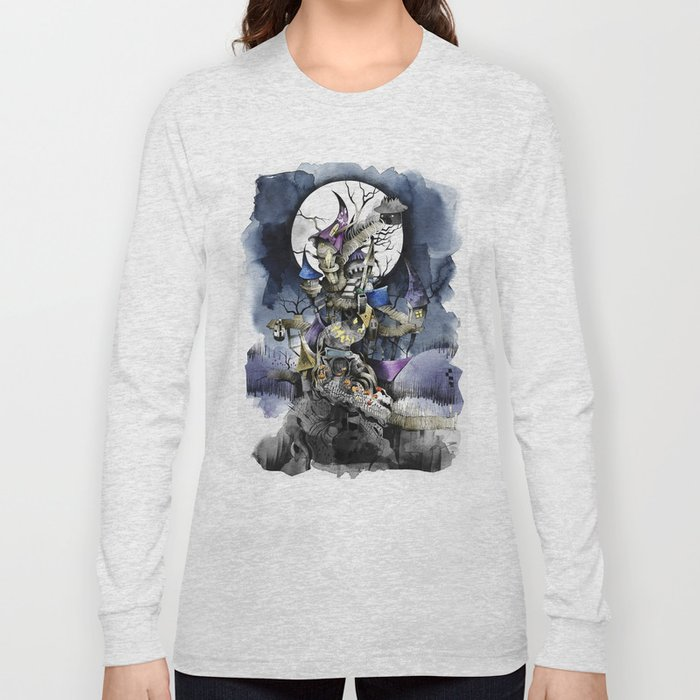 The nightmare before christmas Long Sleeve T-shirt by sandraink ...