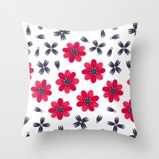 Baby Red Throw Pillow