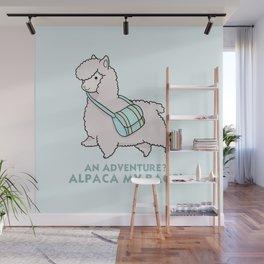 Alpaca my bags Wall Mural
