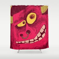 beast Shower Curtains featuring Beast by Steve Steiner