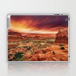 Arches at Sunset Laptop & iPad Skin