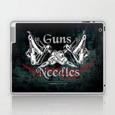 guns 'n' needles Laptop & iPad Skin
