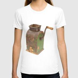 Antigue coffee mill T-shirt