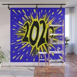 2020 Cartoon Explosion Wall Mural