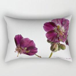 Geranium phaeum sambobor Rectangular Pillow