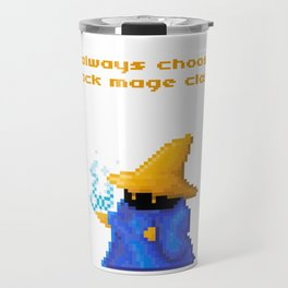 Black Mage Travel Mug