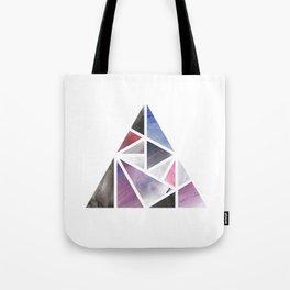 Watercolor Triangle Tote Bag