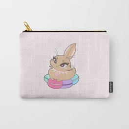 Bunnies - Macarons Carry-All Pouch