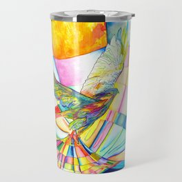 I am Slumber-Catcher, the Hawk Travel Mug